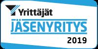 Suomen Yrittäjien jäsenyritys.